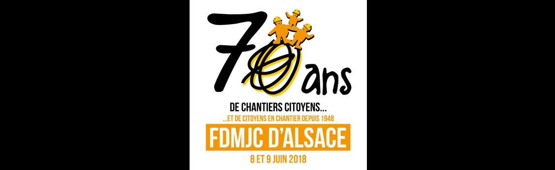 les 70 ans de la FDMJC d'Alsace ! Le 8 et 9 juin 2018 à Hoerdt